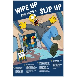 Wipe up and avoid a slip up