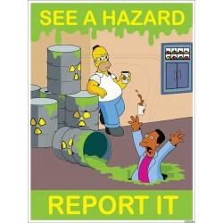 See a hazard