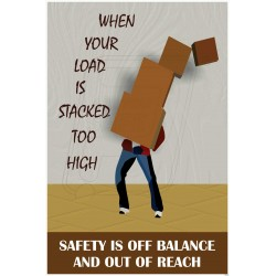 Safety is off balance and out of reach