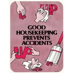 Good housekeeping prevents accidents