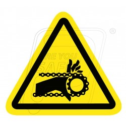 Entanglement hazard (chain drive)