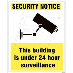 This building is under 24 hours surveillance