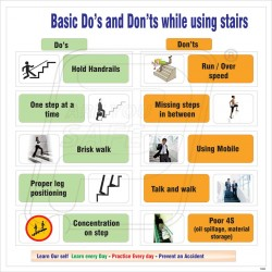 Do's and don'ts of stair