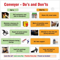 Do's and don'ts of conveyers