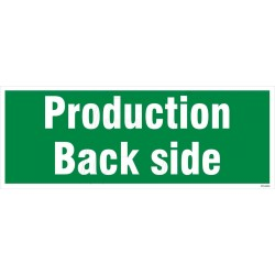 Production back side