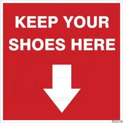 Keep Your Shoes Here