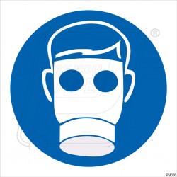 Wear respirator
