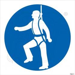 Wear safety belt