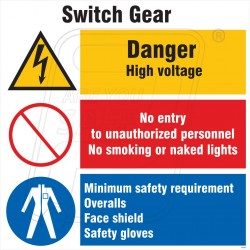 Switch gear space identification