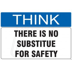 There is not substitue in safety