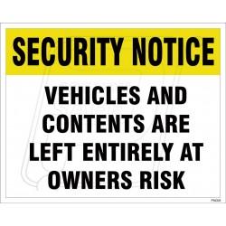 Trespasser Will BE Prosecuted