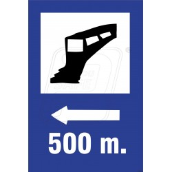 Railway station ahead