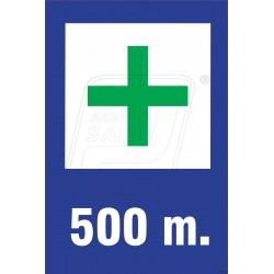 Hospital ahead