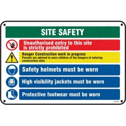 Safety site information