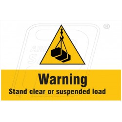 Warning stand clear