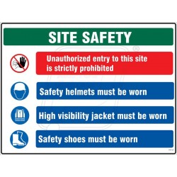 Site safety information
