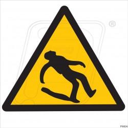 Beware slip hazard