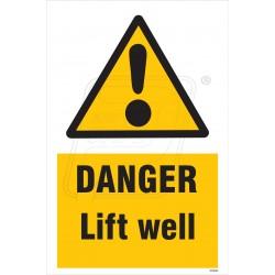 Danger lift well
