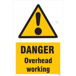 Danger overhead working