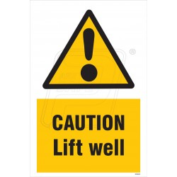 Caution Lift Well