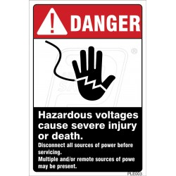 Electrical Hazard .