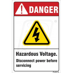 Contact Will Cause Electrical Shock Or Burns