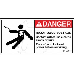 Electrical Hazard Keep Out
