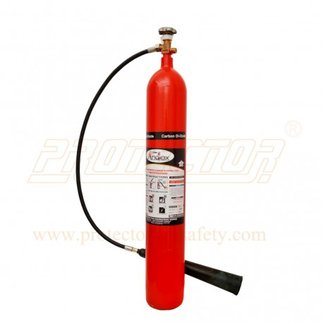 Fire Extinguisher CO2 type 6.5 Kg. Andex in Ahmedabad ...