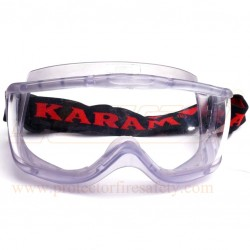 Goggles chemical splash ES-008 clear Karam