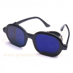 Goggles Cobalt Blue Glass