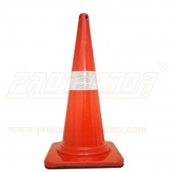 Traffic safety cone rubber base