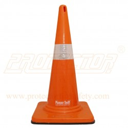 Traffic safety cone rubber base Pioneer