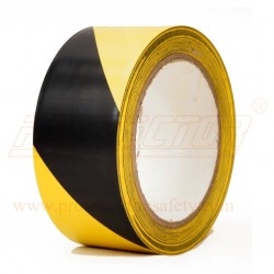Floor marking tape 50mm. double colour.