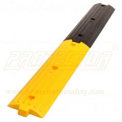 Speed breaking plastic rumbler strips