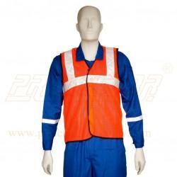 """Jacket 50 mm. (2"""") net type (Orange/Green)"""