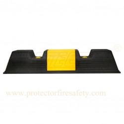 Wheel car stopper plastic