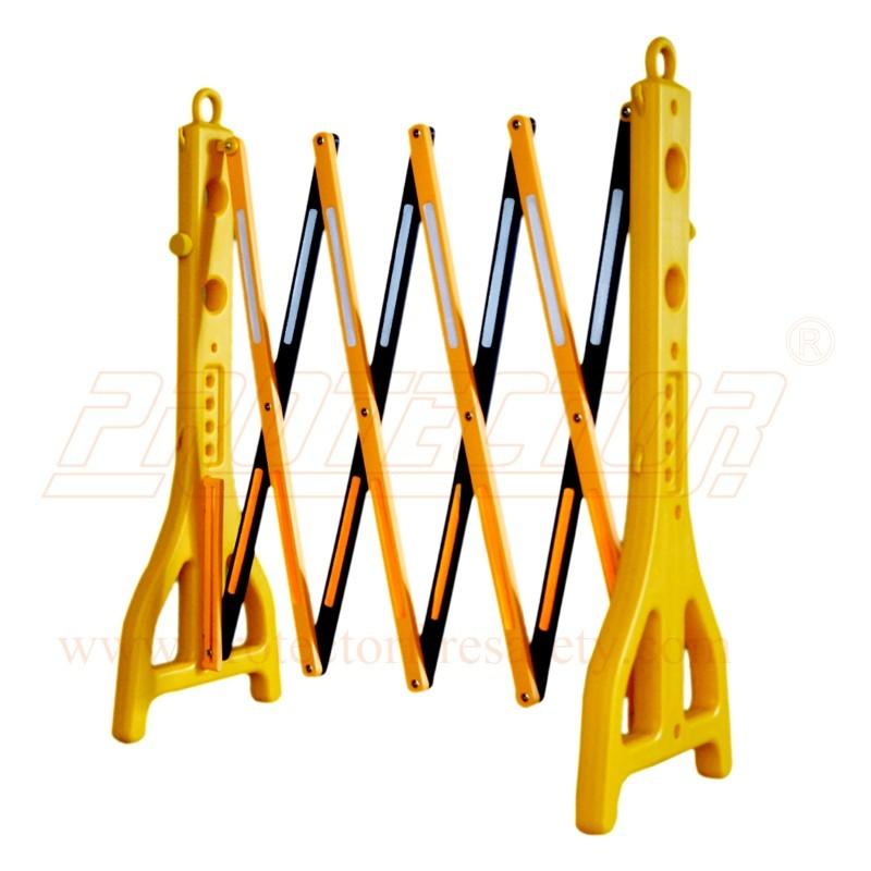 Foldable & Expandable PVC Barrier Light Duty