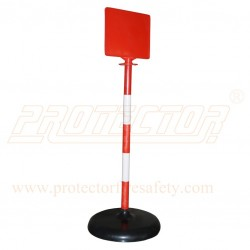 PVC Road Delineator with message board