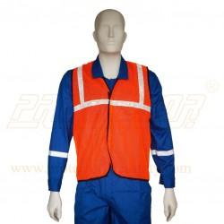 """Jacket 25 mm (1"""") net type Orange Safedot"""