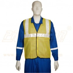 "Jacket 50 mm. (2"") net type (Yellow/Blue)"