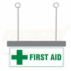 LED First Aid Sign