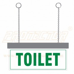 LED Toilet Sign