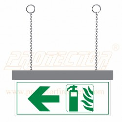 Two side LED Fire Extinguisher Sign