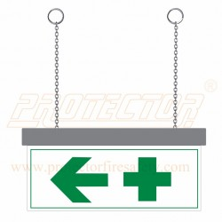 Two side LED First Aid Sign