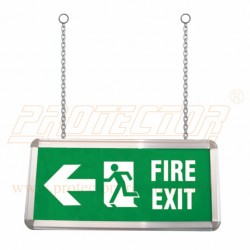Box Type Two side LED Fire exit sign