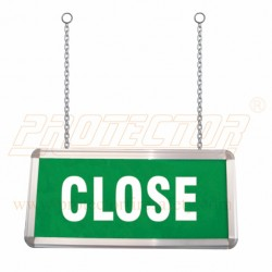 Box Type Two side LED close sign