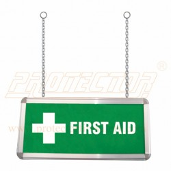 Box Type Two side LED First Aid Sign