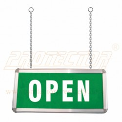 Box Type Two side LED Open Sign