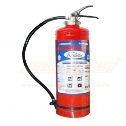 Fire Extinguisher DCP type 9 Kg. Andex with cartridge.
