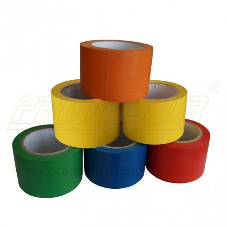 Floor marking tape 75 mm. X 30 M